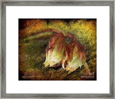 Framed Print featuring the digital art Breath Of Life by Rhonda Strickland