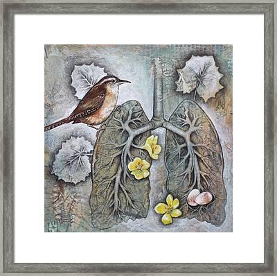 Breath Of Life Framed Print by Sheri Howe