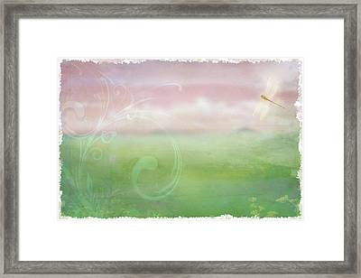 Breath Of Spring Framed Print