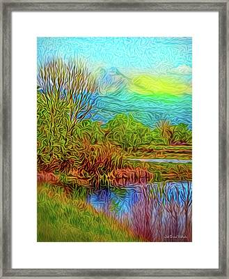 Breath Of Sunrise Framed Print