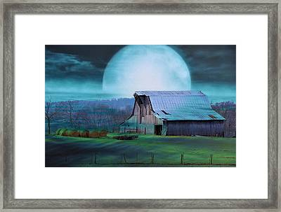 Breath Of Winter Framed Print
