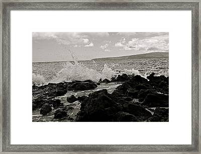 Breath Framed Print