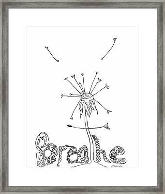 Breathe Framed Print by D Renee Wilson