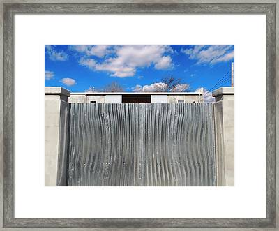 Breathe Deep Framed Print