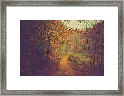 Framed Print featuring the photograph Breathe In Autumn by Shane Holsclaw
