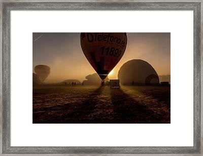 Breathe The Air Framed Print by Jorge Maia
