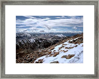 Breathing More Than Just A Little Framed Print