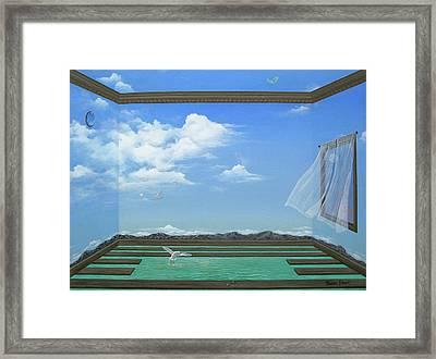 Breathing Room Framed Print by Sharon Ebert