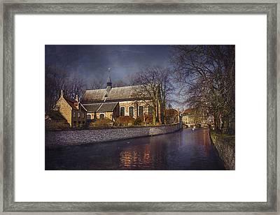 Breathtaking Bruges Framed Print by Carol Japp