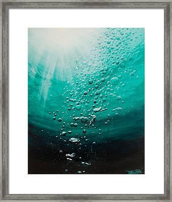 Breathtaking  Framed Print by Tripp Doogan