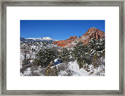 Breathtaking View Framed Print by Diane Alexander