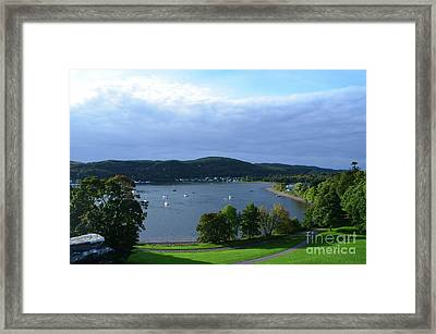 Breathtaking View Of Loch Etive In Scotland Framed Print by DejaVu Designs