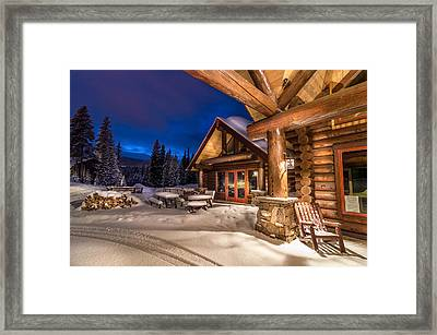 Breckenridge After The Storm Framed Print by Michael J Bauer