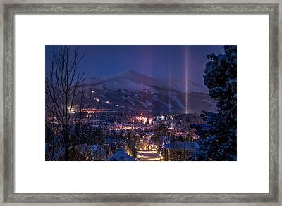 Breckenridge Phenomenon Framed Print by Michael J Bauer