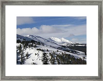 Breckenridge Resort Colorado Framed Print by Brendan Reals