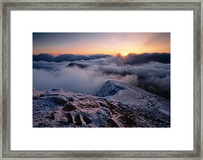 Brecon Beacons Wales Framed Print by Panoramic Images