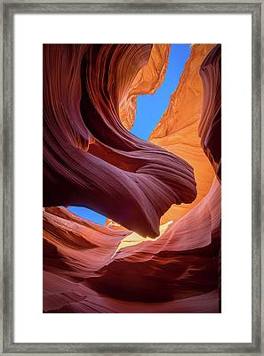 Breeze Of Sandstone Framed Print by Edgars Erglis