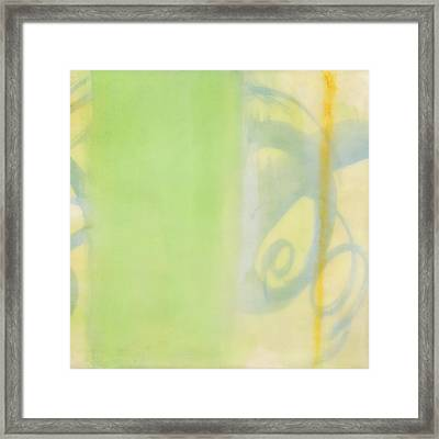 Breeze On - 2 Framed Print by Sally  Tuttle