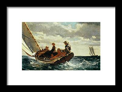 Sailing Framed Prints