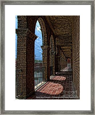 Breezway On The Baker Framed Print