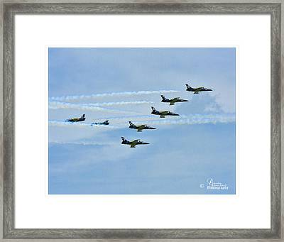 Breitling Air Show Framed Print