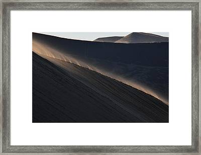Framed Print featuring the photograph Breneau's Mornings by Al Swasey