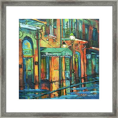 Framed Print featuring the painting Brennan's by Dianne Parks