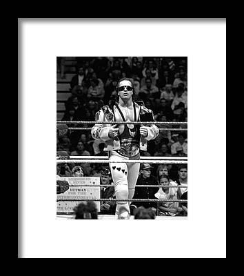 Pro Wrestler Framed Prints