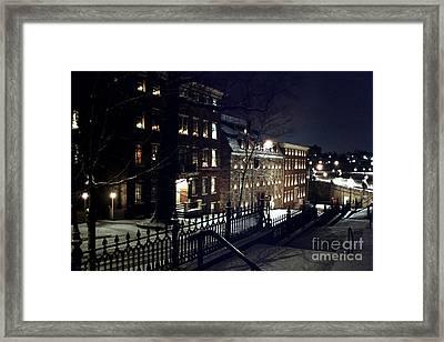 Brethrens House  Framed Print
