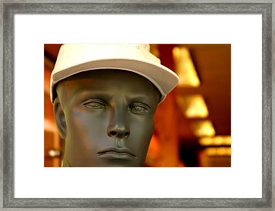 Brett Framed Print by Jez C Self