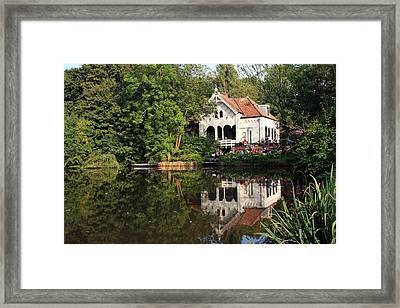 Brewery By The Lake Framed Print by Aidan Moran