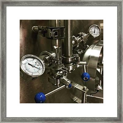 Brewery, #juansilvaphotos #photography Framed Print