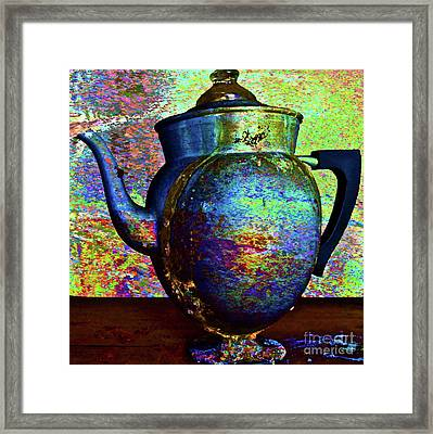 Brewing Nostalgia Framed Print by Gwyn Newcombe