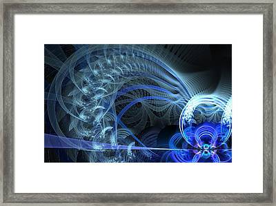 Brewing Storm Framed Print by Jhoy E Meade