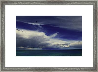 Brewing Up A Storm Framed Print