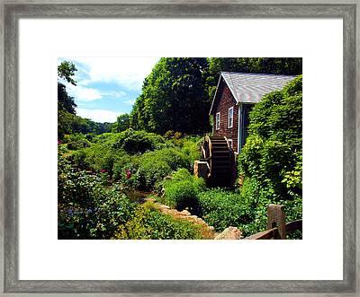 Brewster Gristmill Framed Print