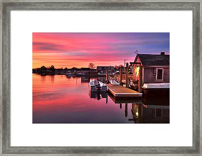 Brewsters In The South End Framed Print