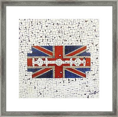 Union Jack Framed Print by Emil Bodourov