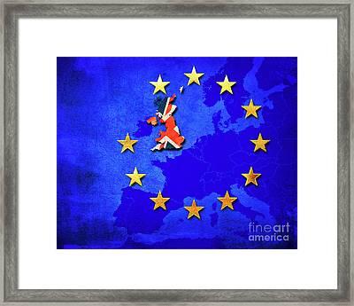 Brexit Framed Print