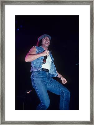 Brian Johnson Framed Print