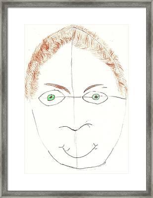 Brian K Framed Print by Brian K