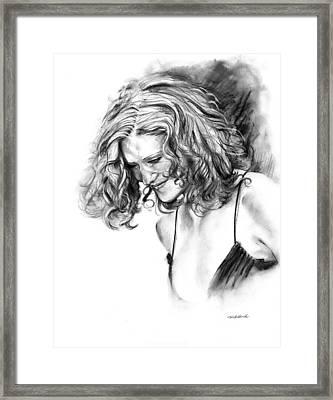Briana Framed Print