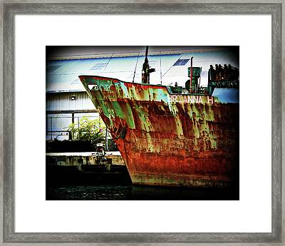 Brianna H Framed Print by Perry Webster