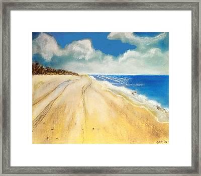 Bribie Island Framed Print