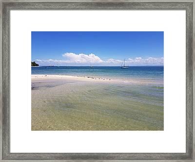 Bribie Waters Framed Print