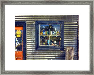 Framed Print featuring the photograph Bric-a-brac by Wayne Sherriff