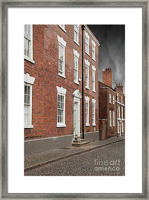 Brick Buildings Framed Print by Juli Scalzi