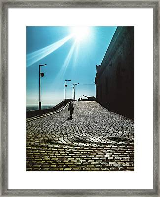 Framed Print featuring the photograph Brick By Brick by Colleen Kammerer