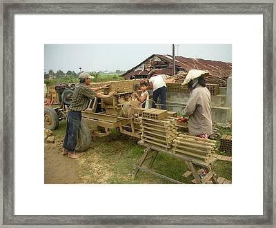 Brick Factory Framed Print