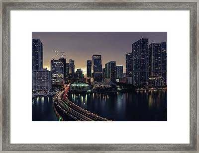 Brickell City Centre Framed Print